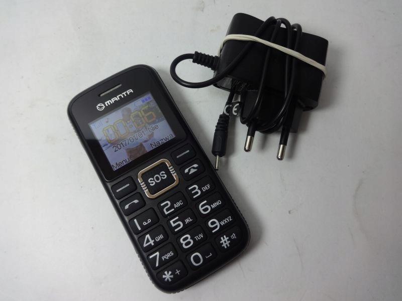 TELEFON MANTA TEL2004 @IDEALNY DLA SENIORA!!