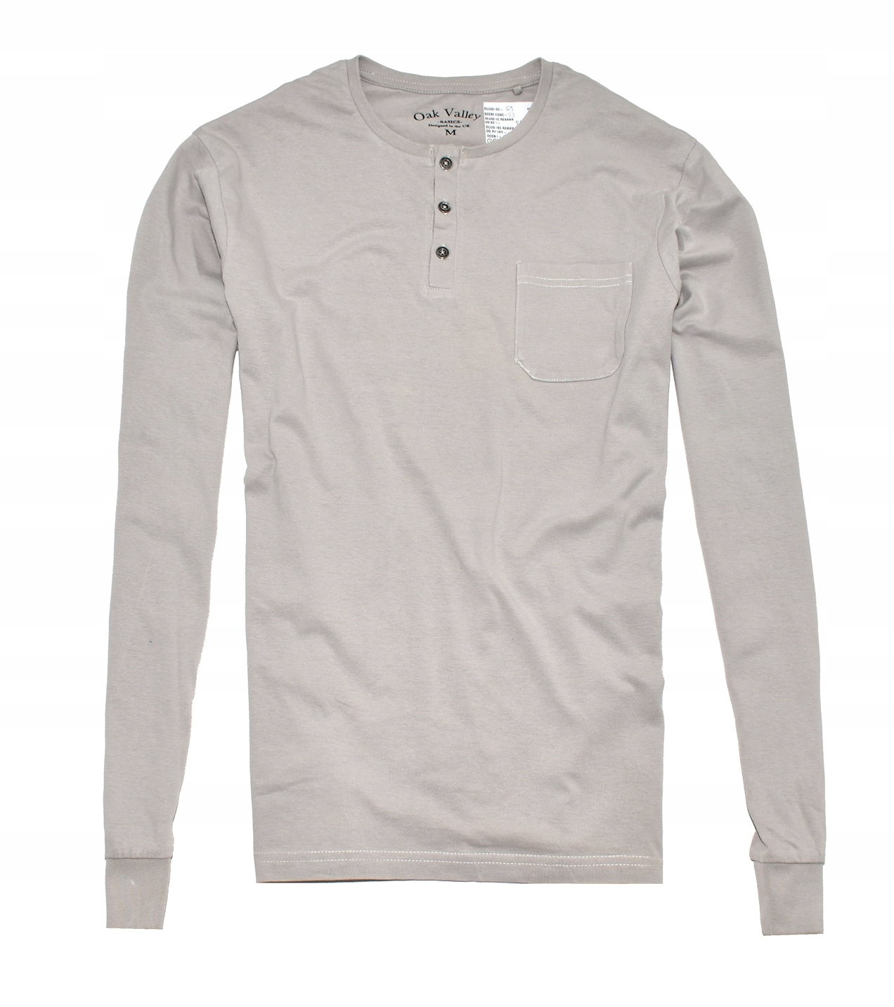 MM 214 OAK VALLEY_ORYGINAL STONE LONG SLEEVE_M