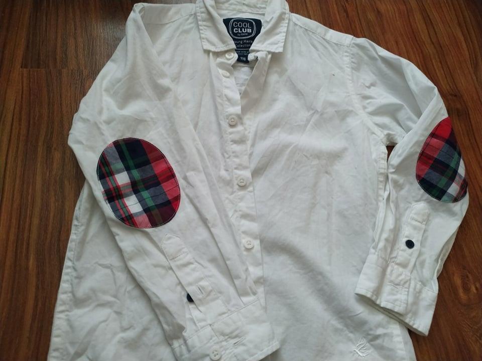 Biała koszula Cool Club rozmiar 116
