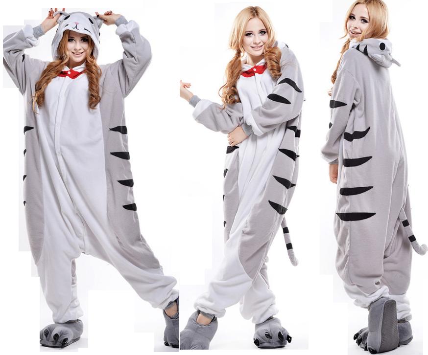 20b1bdd09eea03 KOT KIGURUMI piżama KOMBINEZON DRES CAT KOTEK S - 7623247296 ...