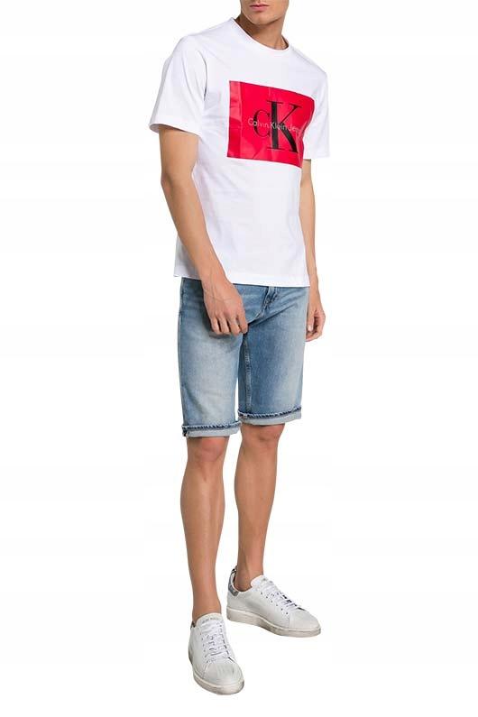 CALVIN KLEIN Jeans spodenki EO/SLIM SHORTS W28