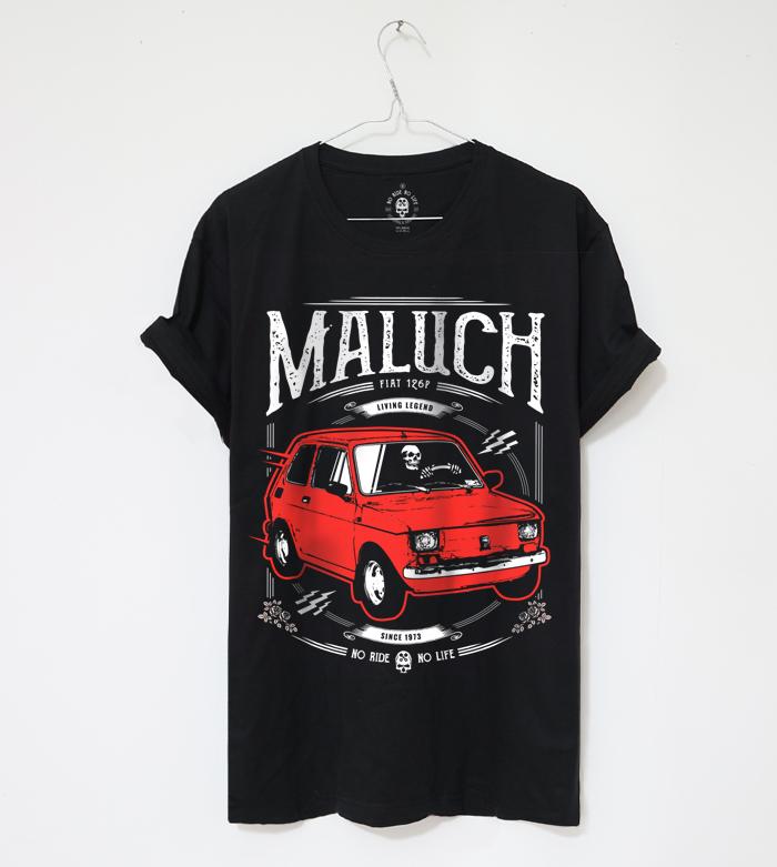 Koszulka Tshirt Maluch Fiat 126p
