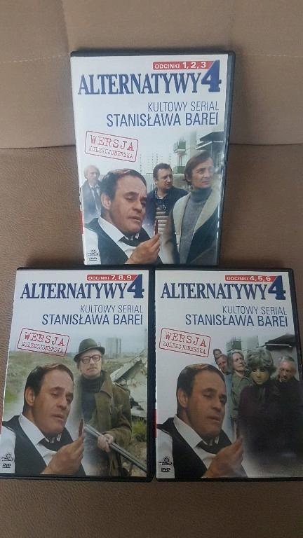 ALTERNATYWY 4 WERSJA KOLEKCJONERKSA 3 DVD SERIAL
