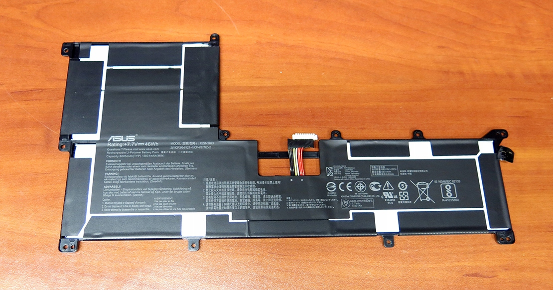 Asus UX490UA, UX490UAR - akumulator C22N1623