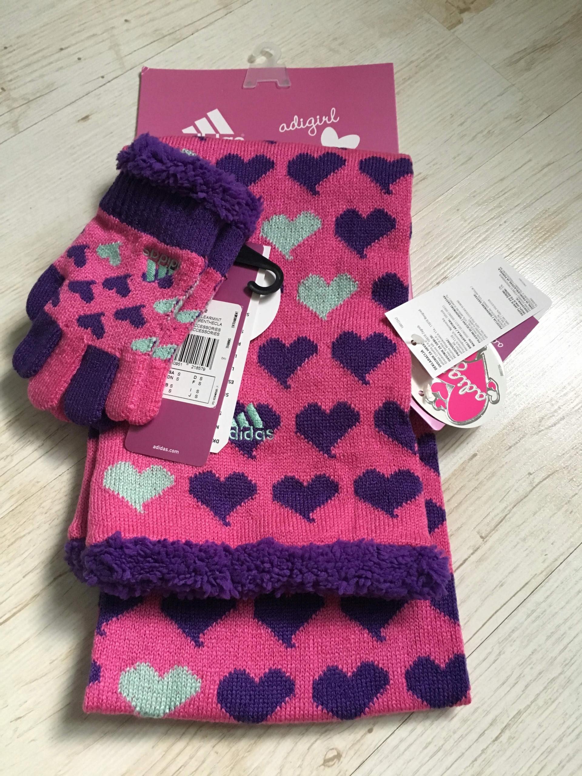 Szalik i rękawiczki Adidas