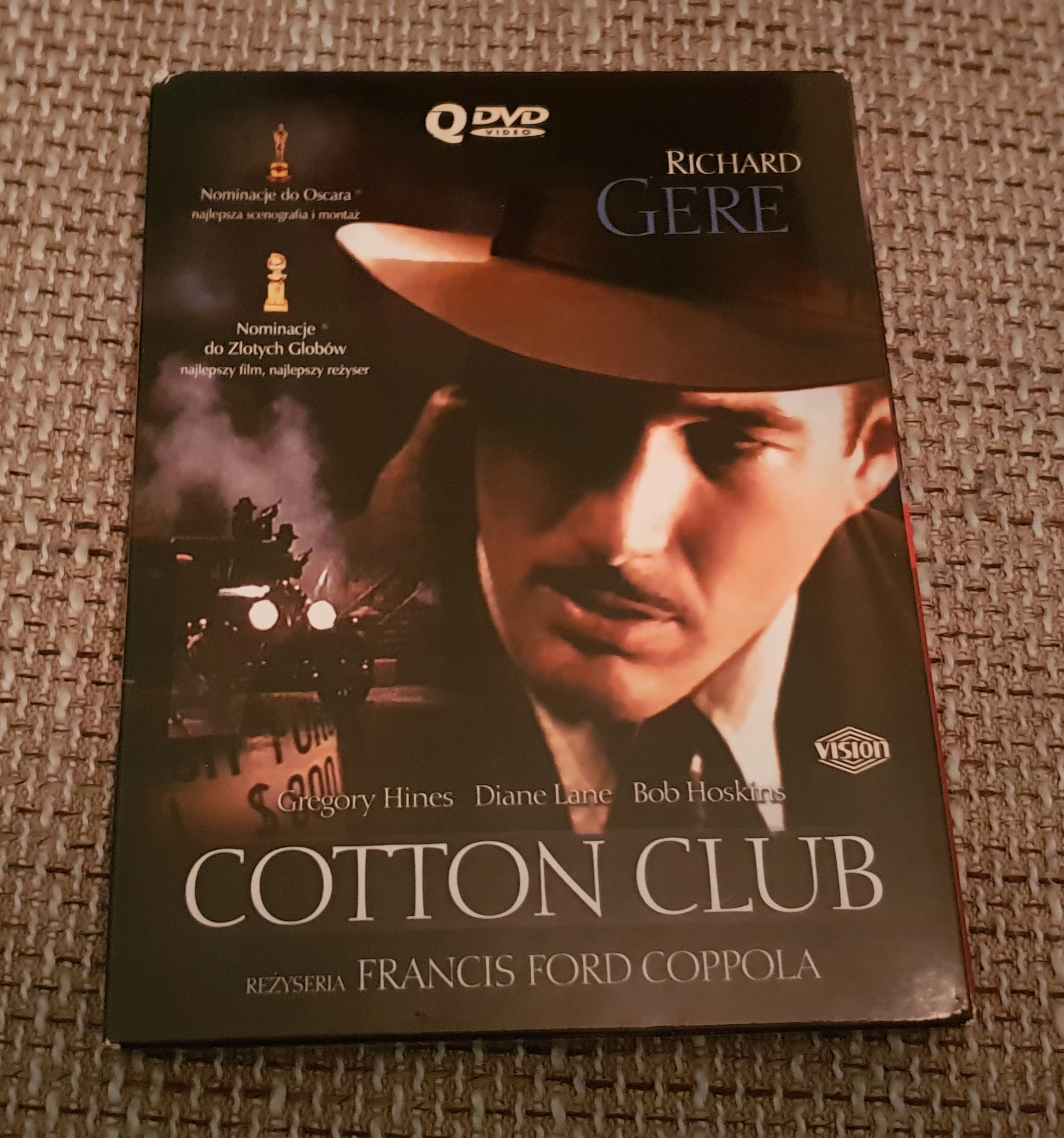 COTTON CLUB DIGIPAK WYPRZEDAŻ FILMÓW