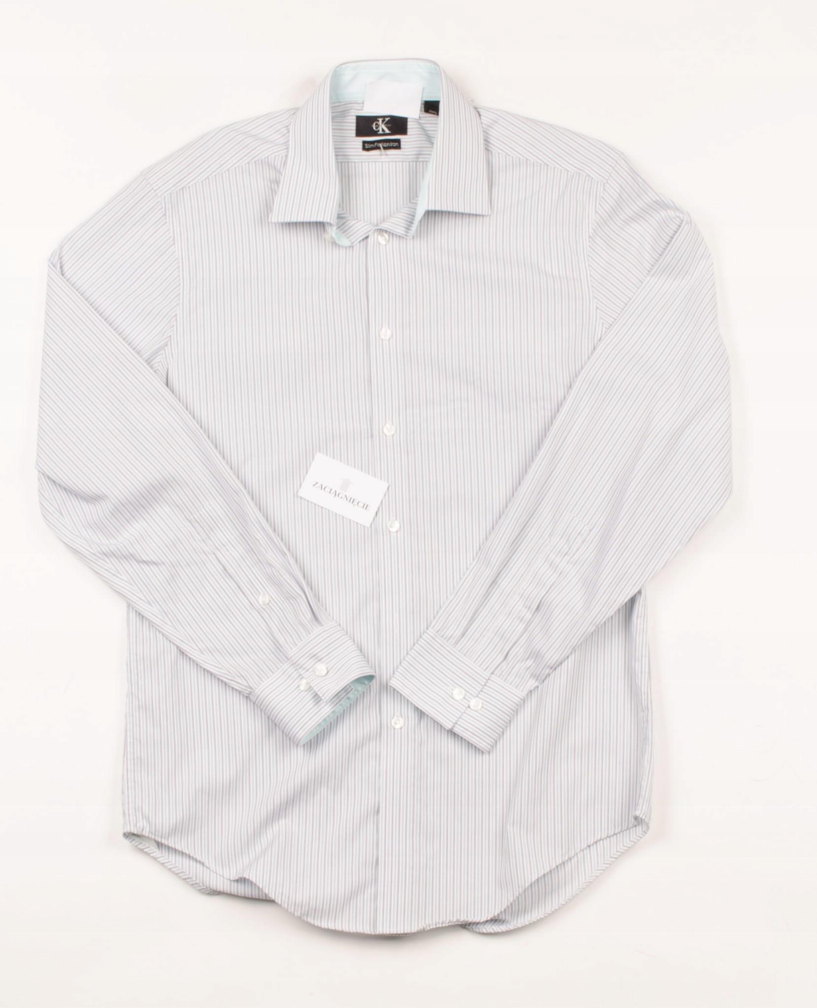 31904 MICRO WADA Calvin Klein Koszula Męska L