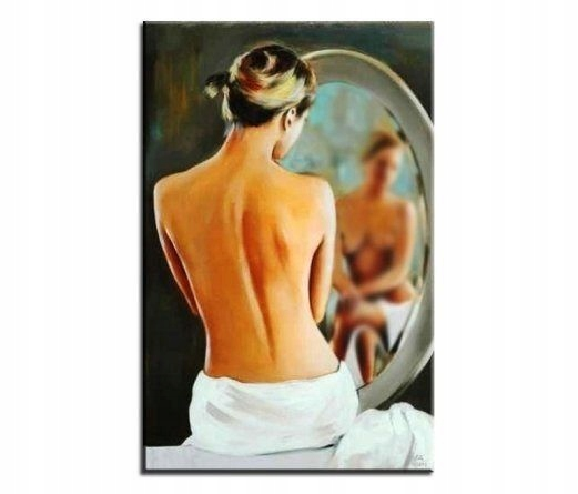 Obraz 60x90cm malowany ręcznie MIrror