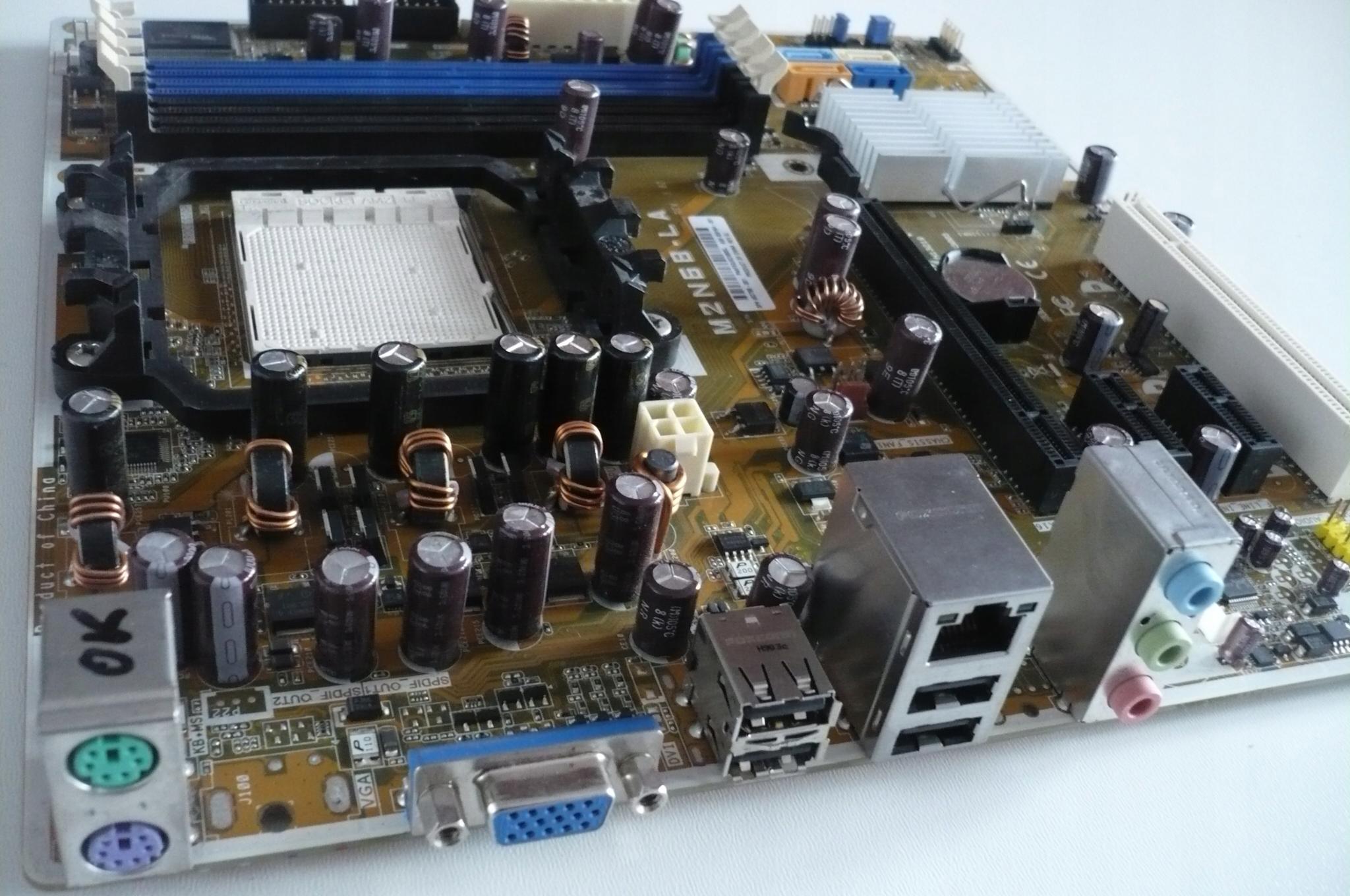 Asus M2N68-LA PCI-e LAN DDR2 LAN AM2 /249