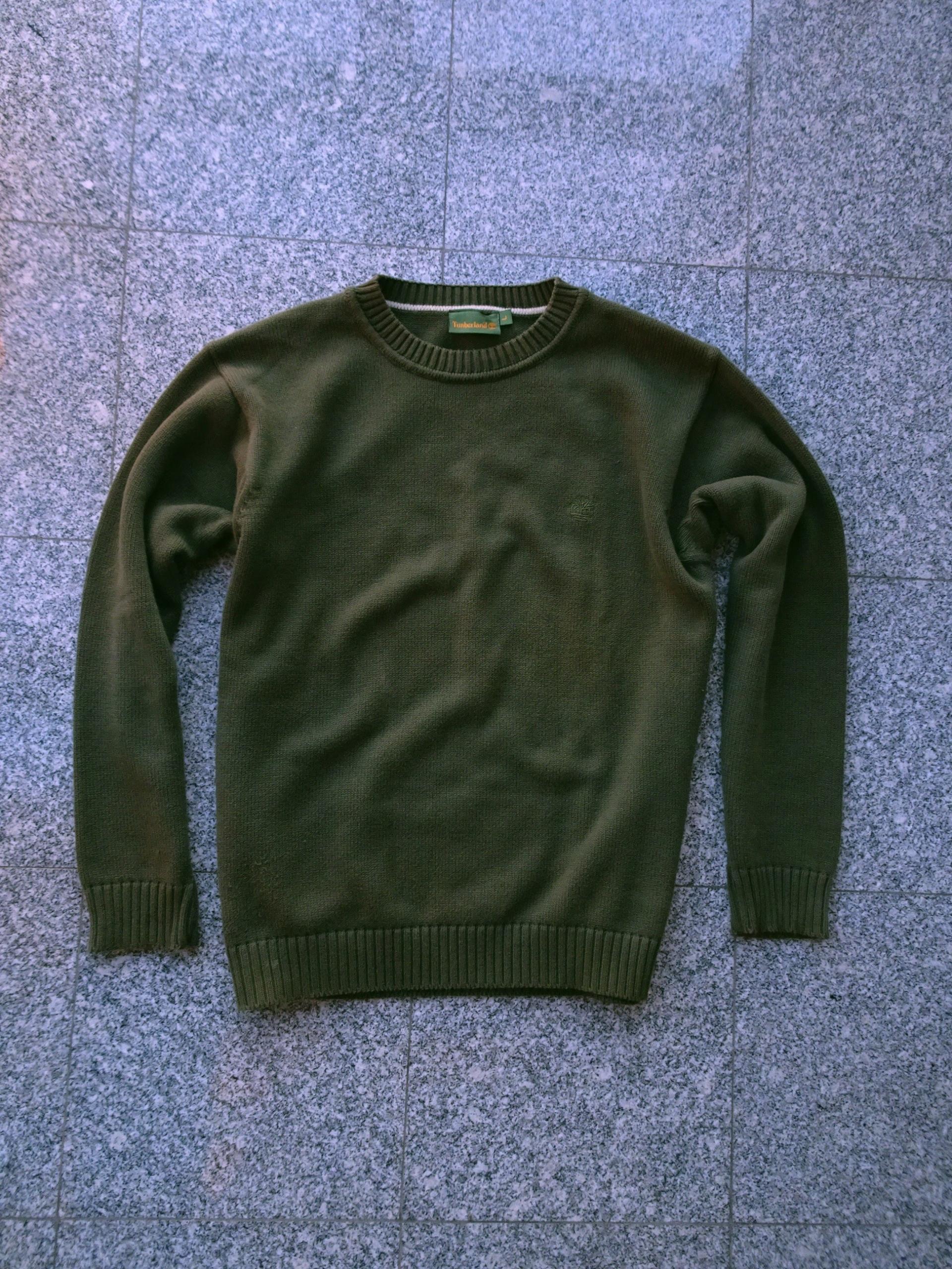 Timberland Sweter Bluza Bawełna Oliwkowy L/XL BDB