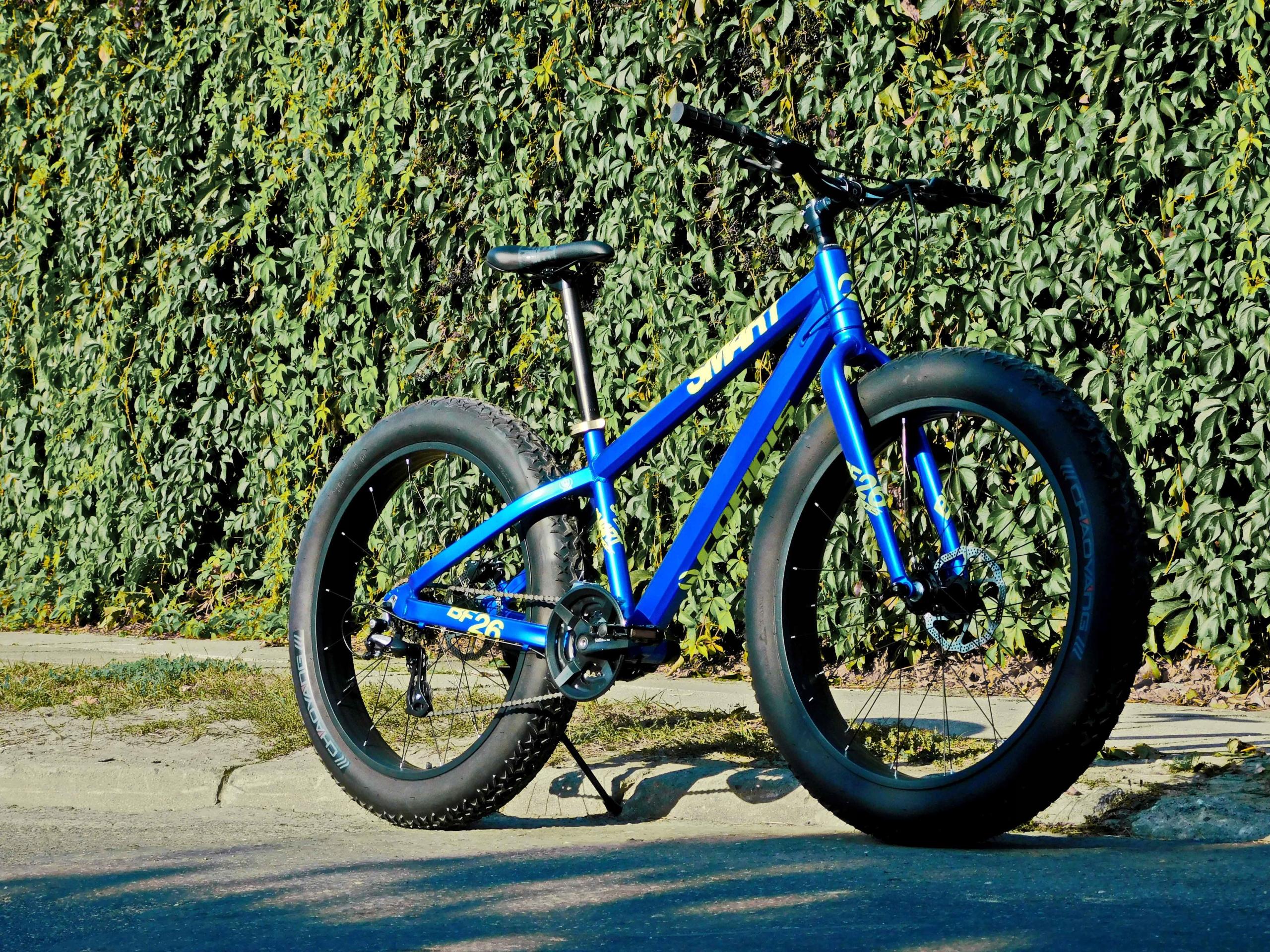 Fat Bike Rower SMART Confidis Niebieski Mat 26x4.8