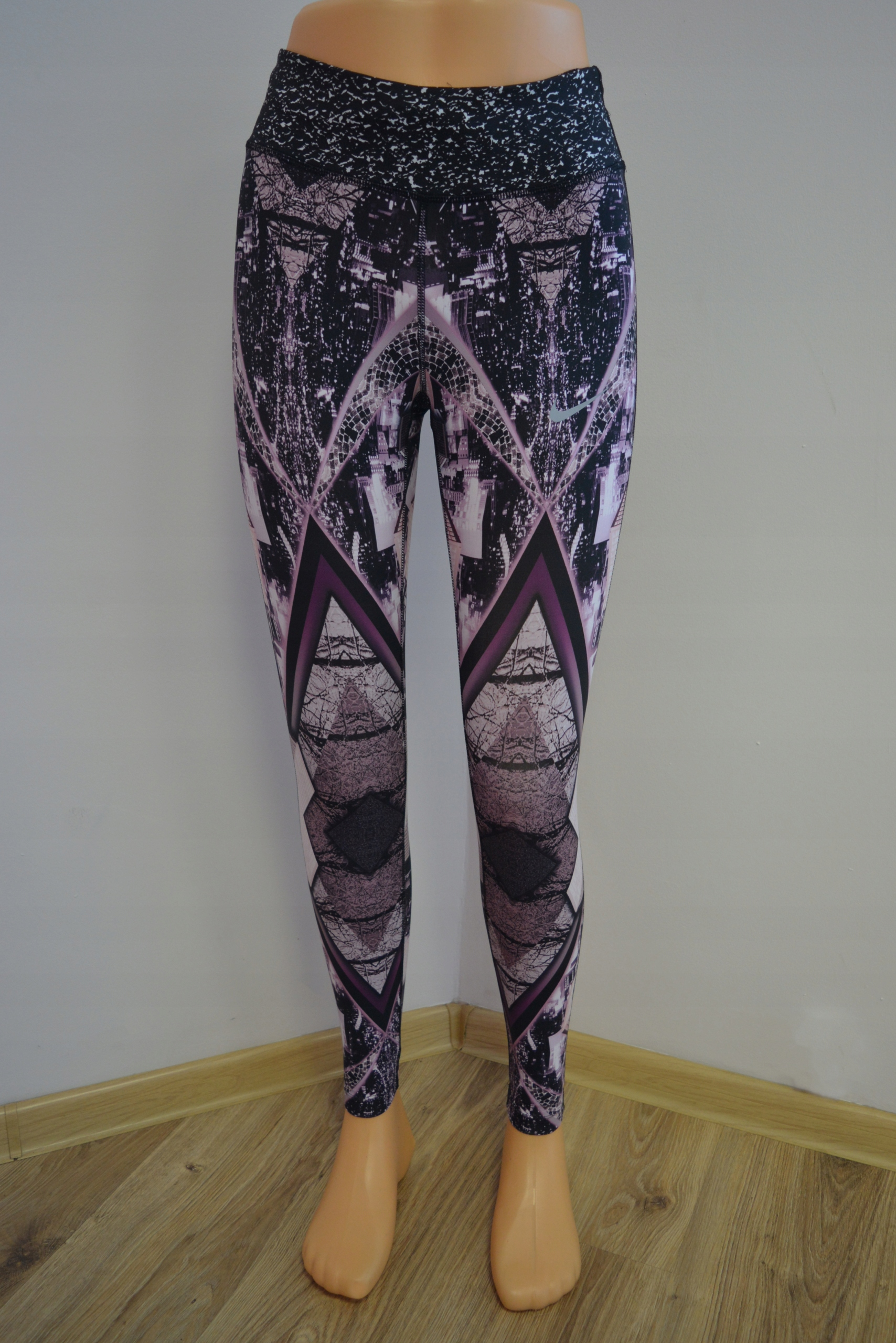 Nike Womens Epic Lux 2.0 Power Printed Run Tights