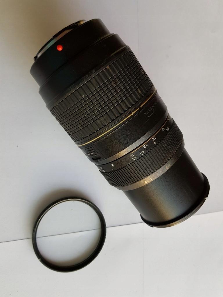 OBIEKTYW TAMRON 70-300mm 1:4-5,6 TELE-MACRO 1:2 62