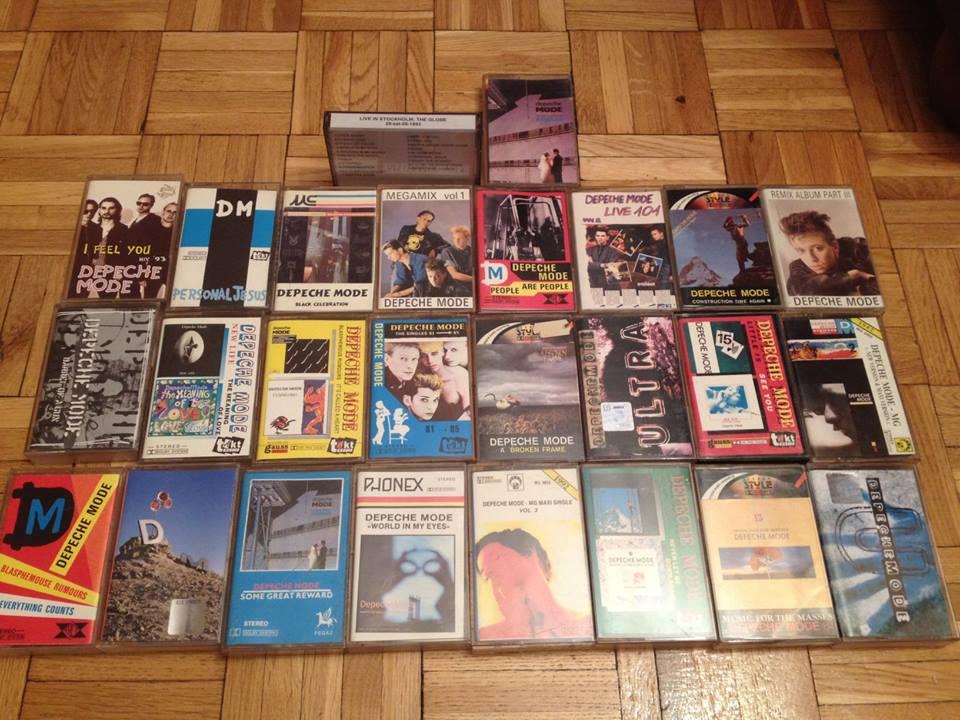 depeche MODE - kasety od 1PLN