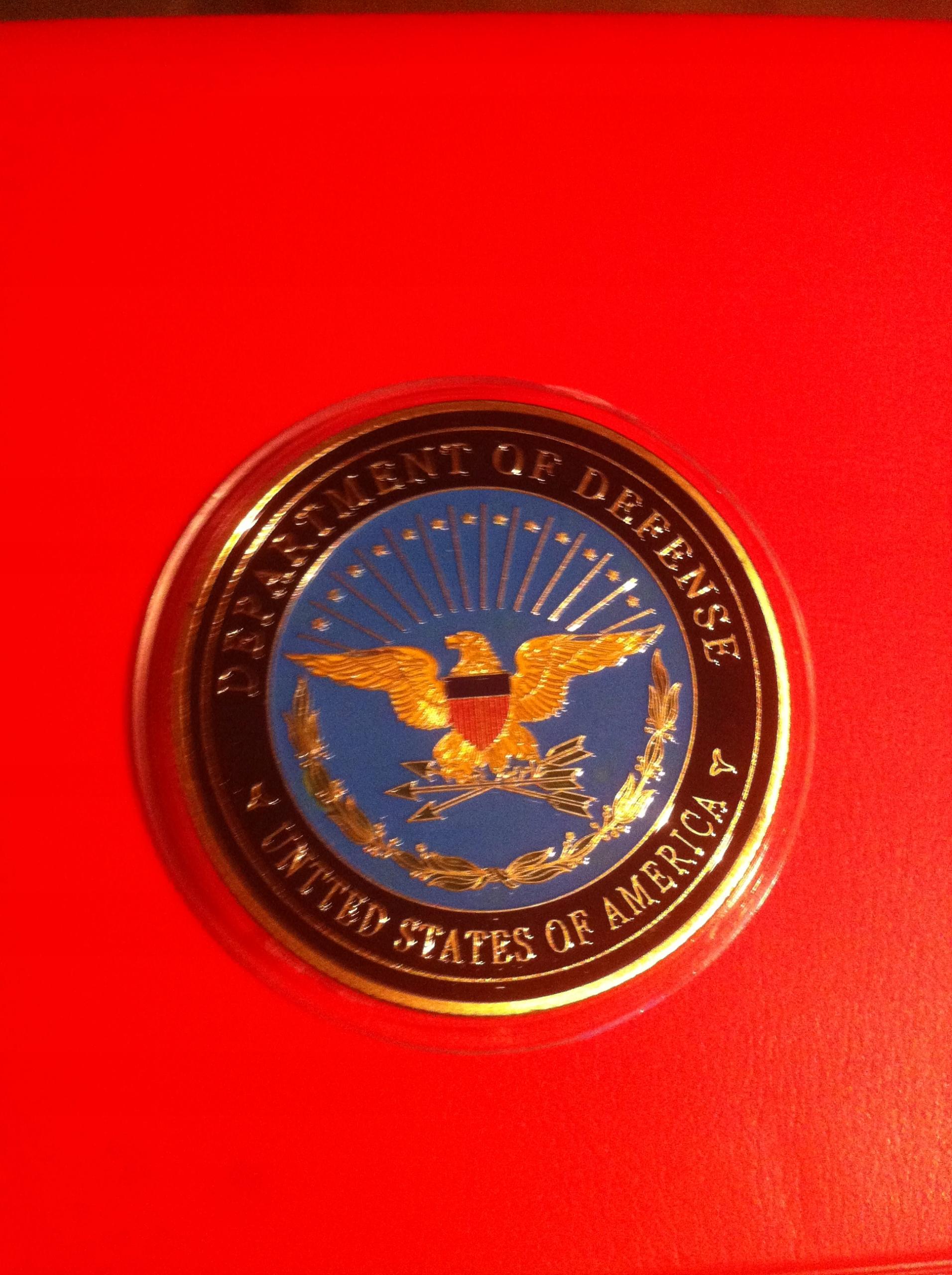 Medal Wojskowy USA -Pentagon Armia Marines