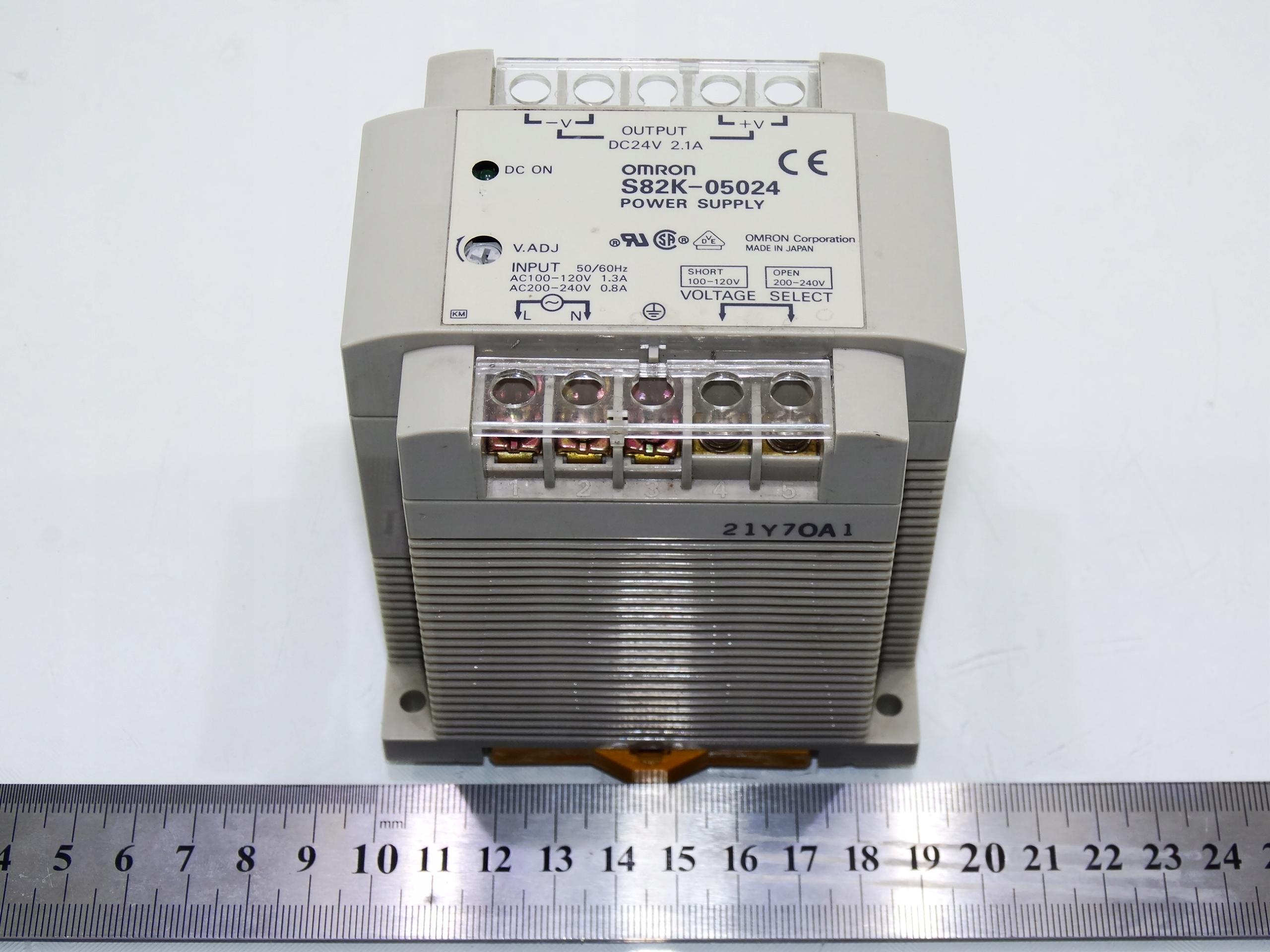 Zasilacz Omron S82K-05024 / 24 VDC / 2,1A