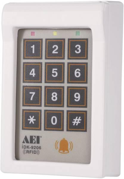 Zamek kodowy nadtynkowy iDK-9206, 12 V/DC
