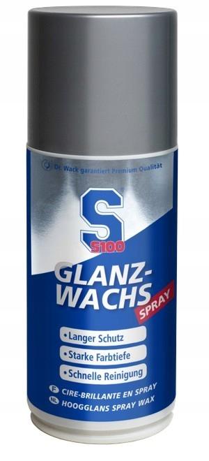 WOSK W SPRAYU, GLANZ WACHS SPRAY S100