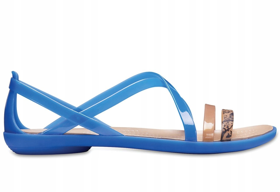 Sandały CROCS Isabella Graphic Blue W9 39-40
