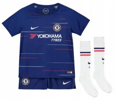 Strój domowy NIKE Chelsea niebieski BABY 68-74