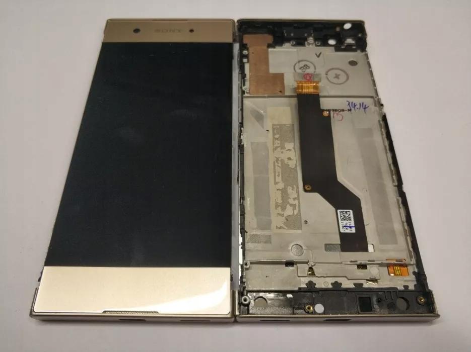 ORG! WYŚWIETLACZ LCD + RAMKA SONY XPERIA XA1 złoty