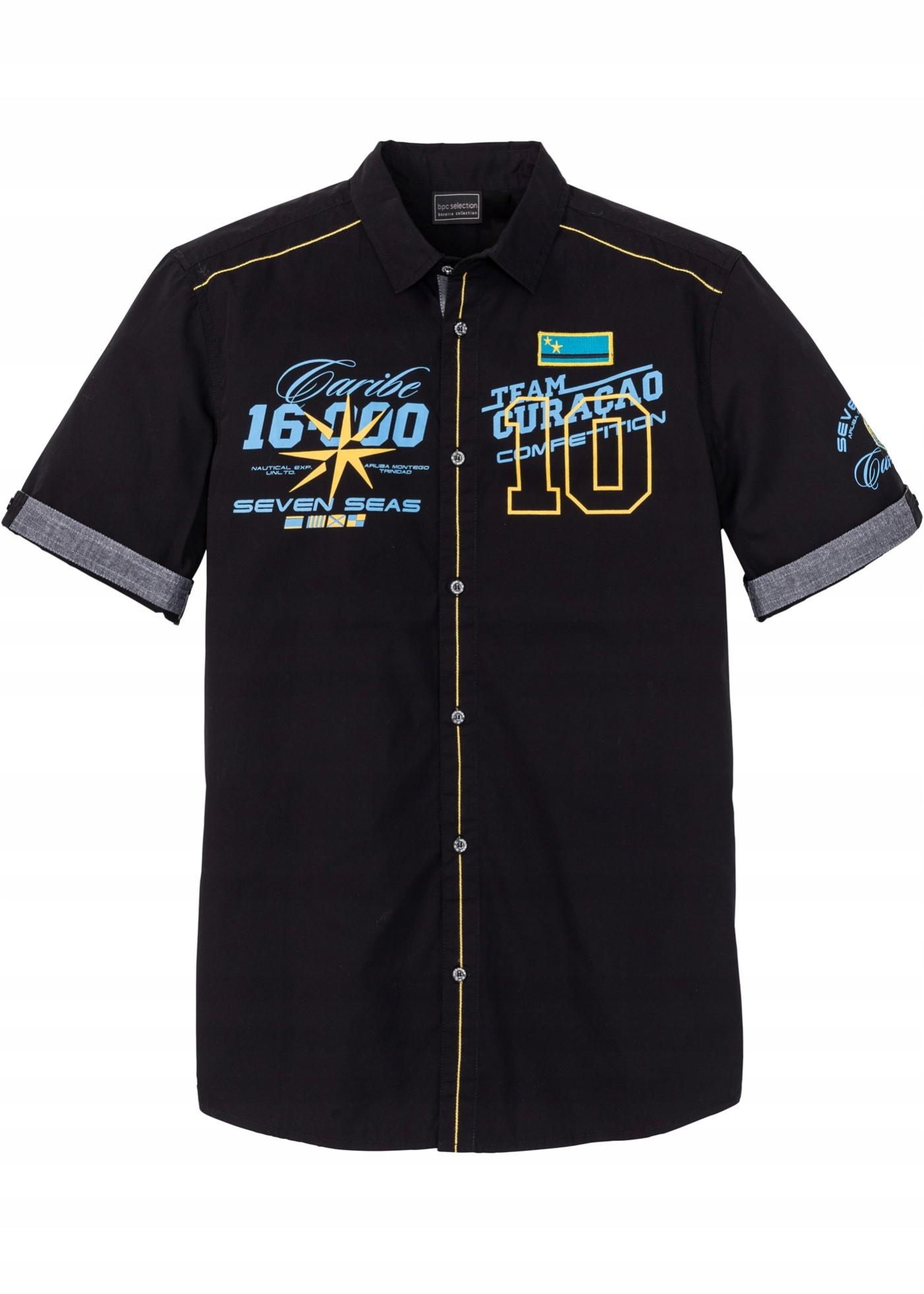 G459 BPC Koszula z nadrukiem r.39/40