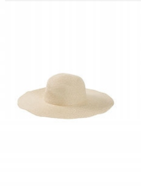 kapelusz słomkowy na plażę