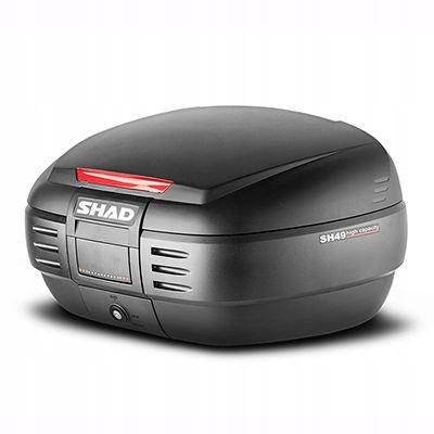 Kufer motocyklowy Shad SH49 + płyta mocująca