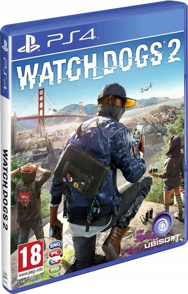 Watch Dog 1 i 2 pl napisy na PS4