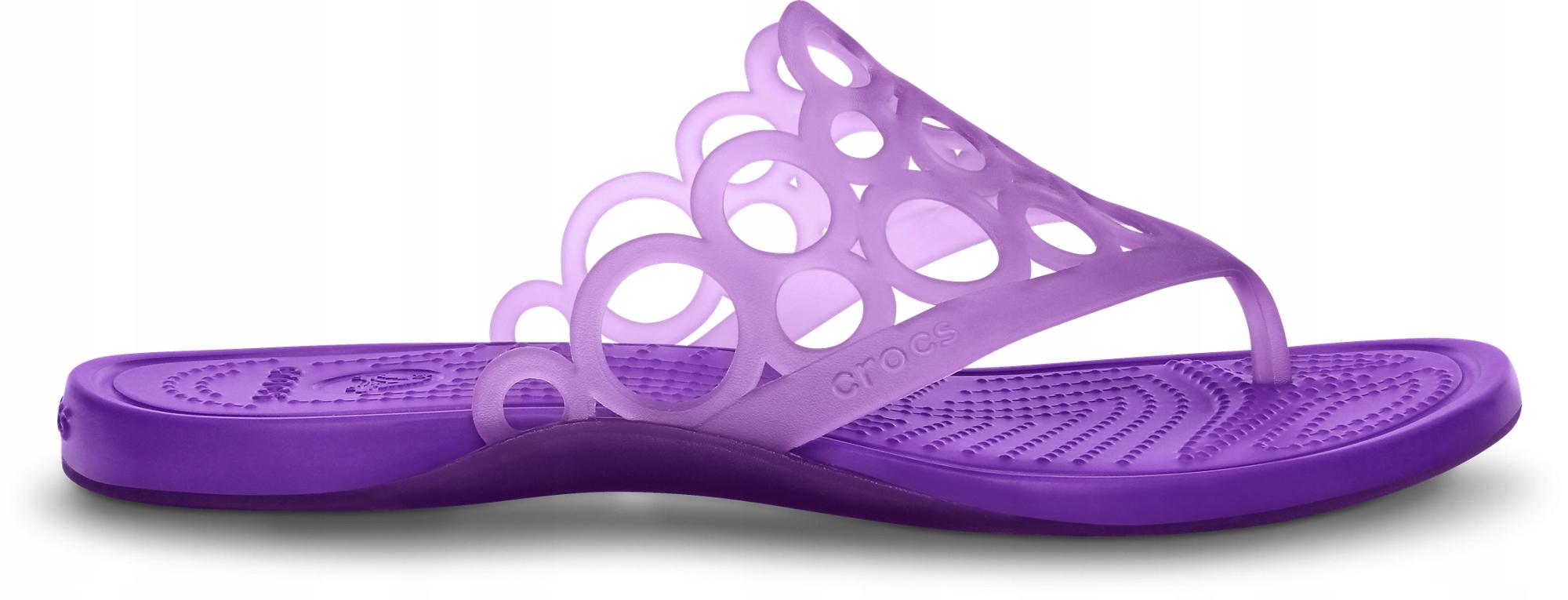 Japonki Crocs Adrina Bubbles Flip-flop fiolet 37,5