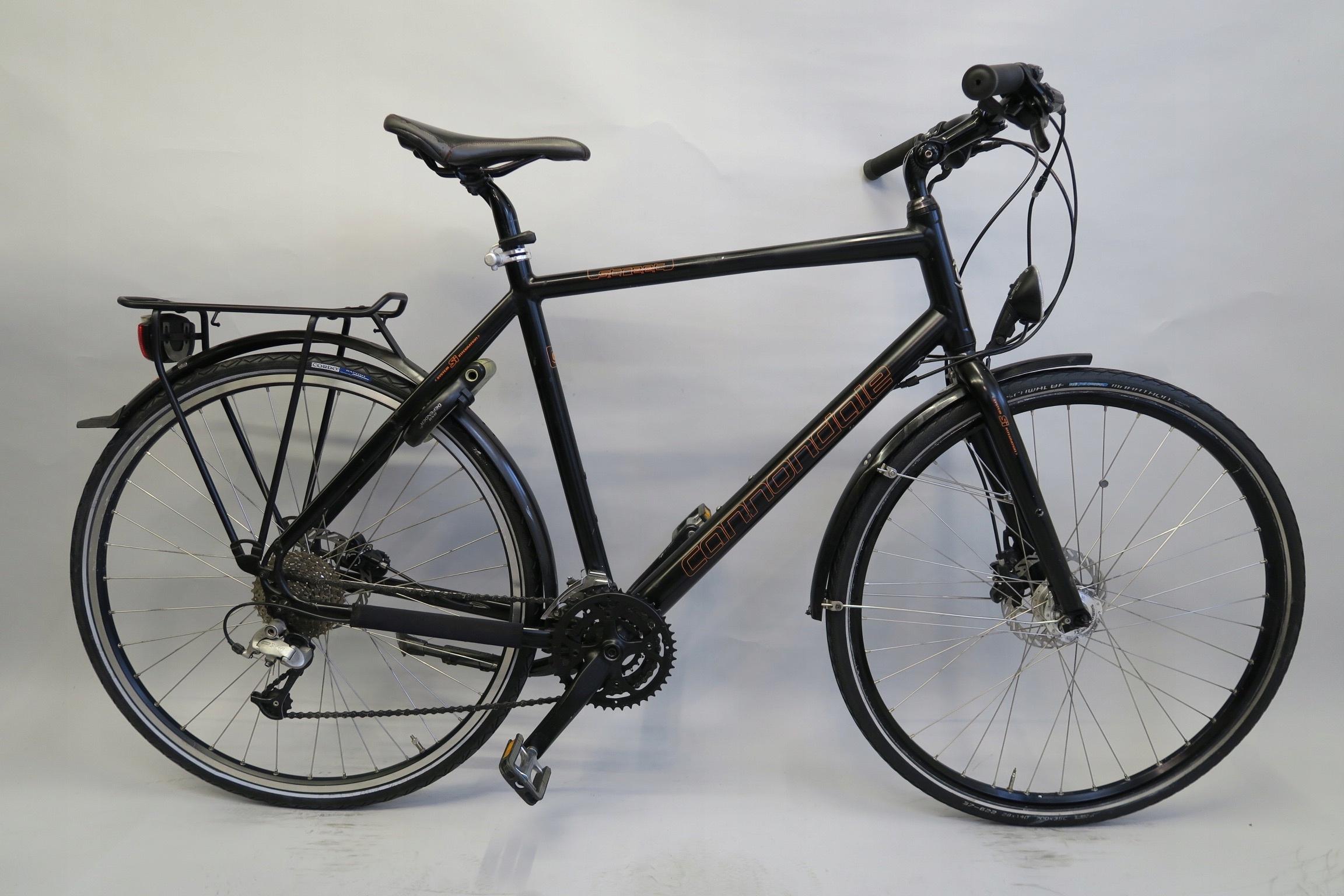 Markowy rower Cannondale Street XT hydraulika
