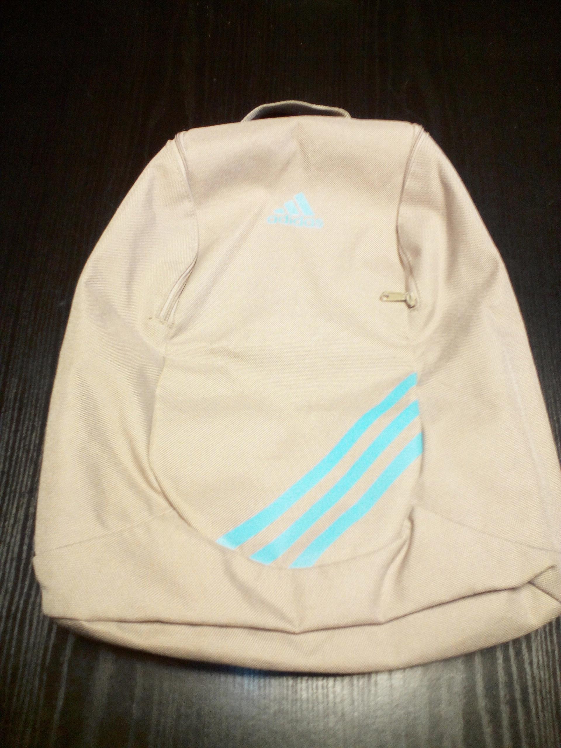 Adidas plecak brąz/beż