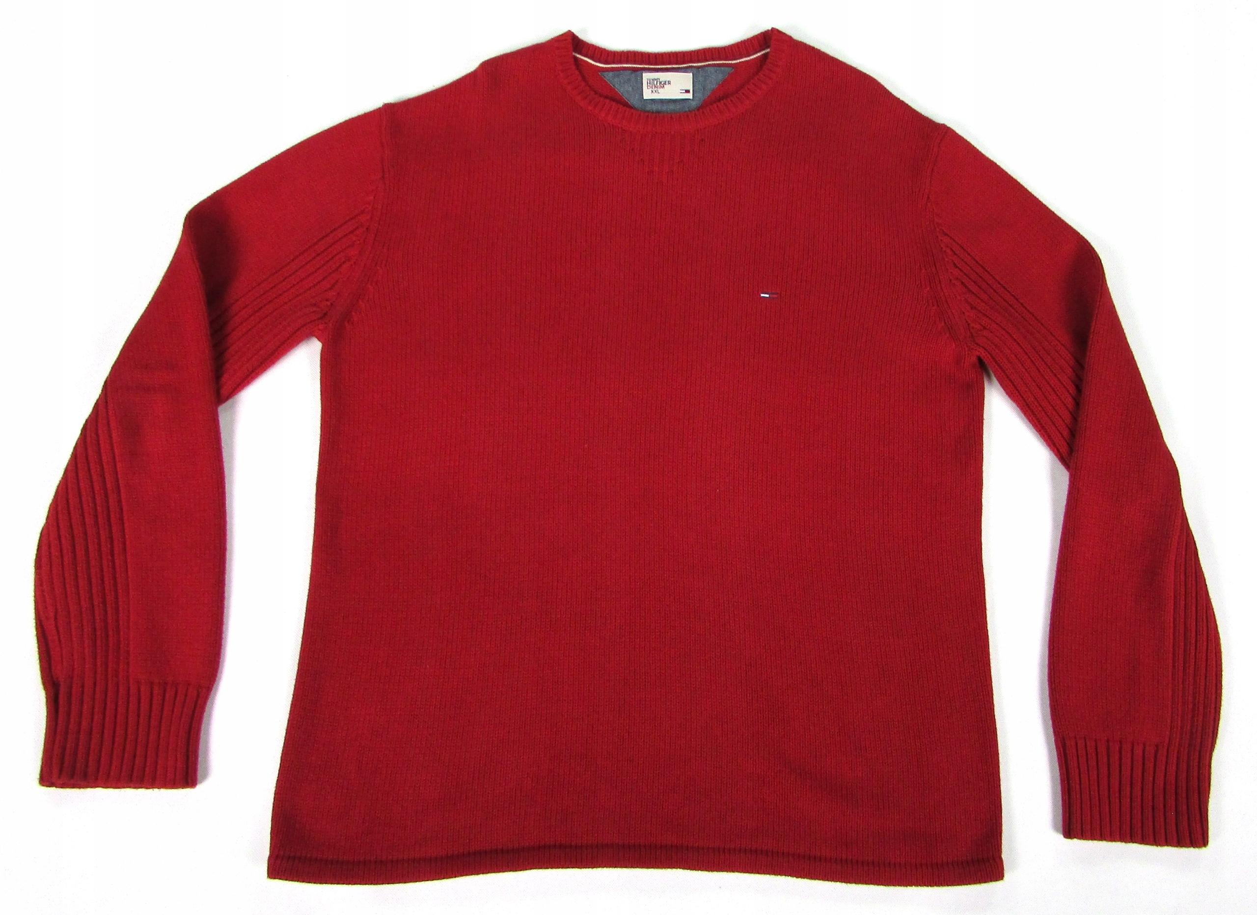 ** TOMMY HILFIGER **__XXL__Porządny, super sweter