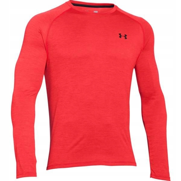 UNDER ARMOUR koszulka TECH Trening Bieganie LS #L