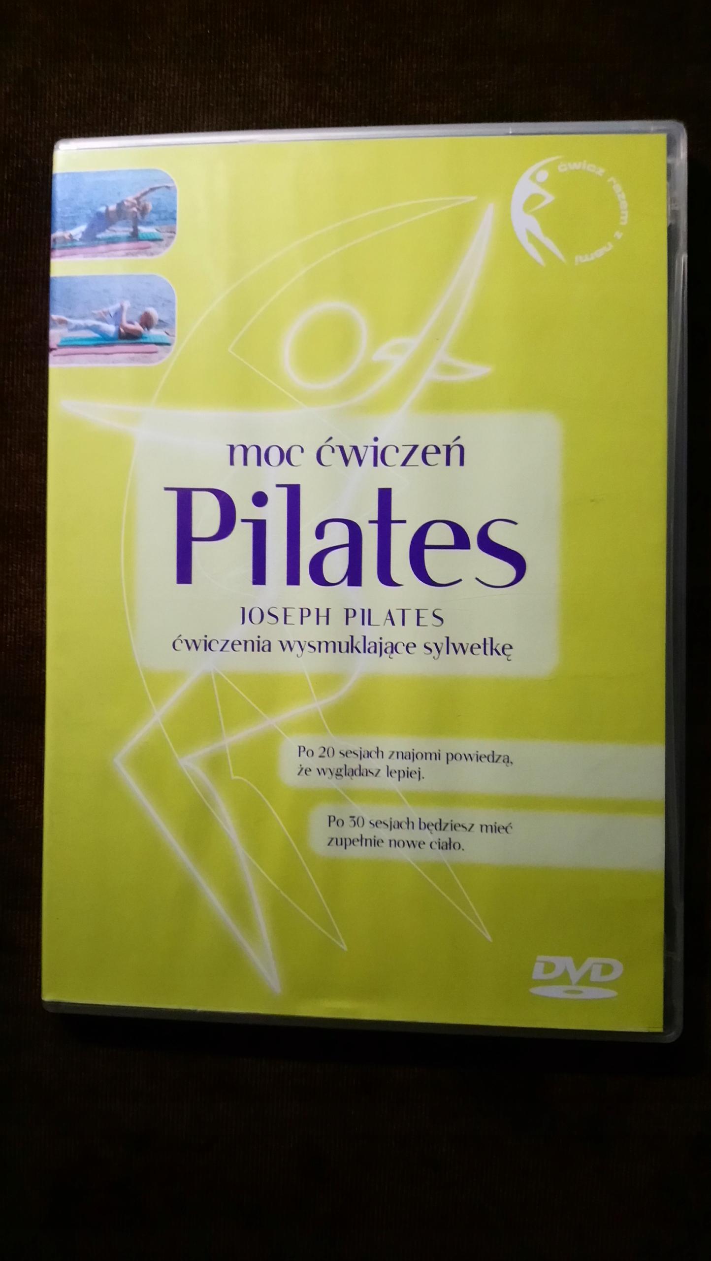 Pilates moc ćwiczeń - DVD pl lektor