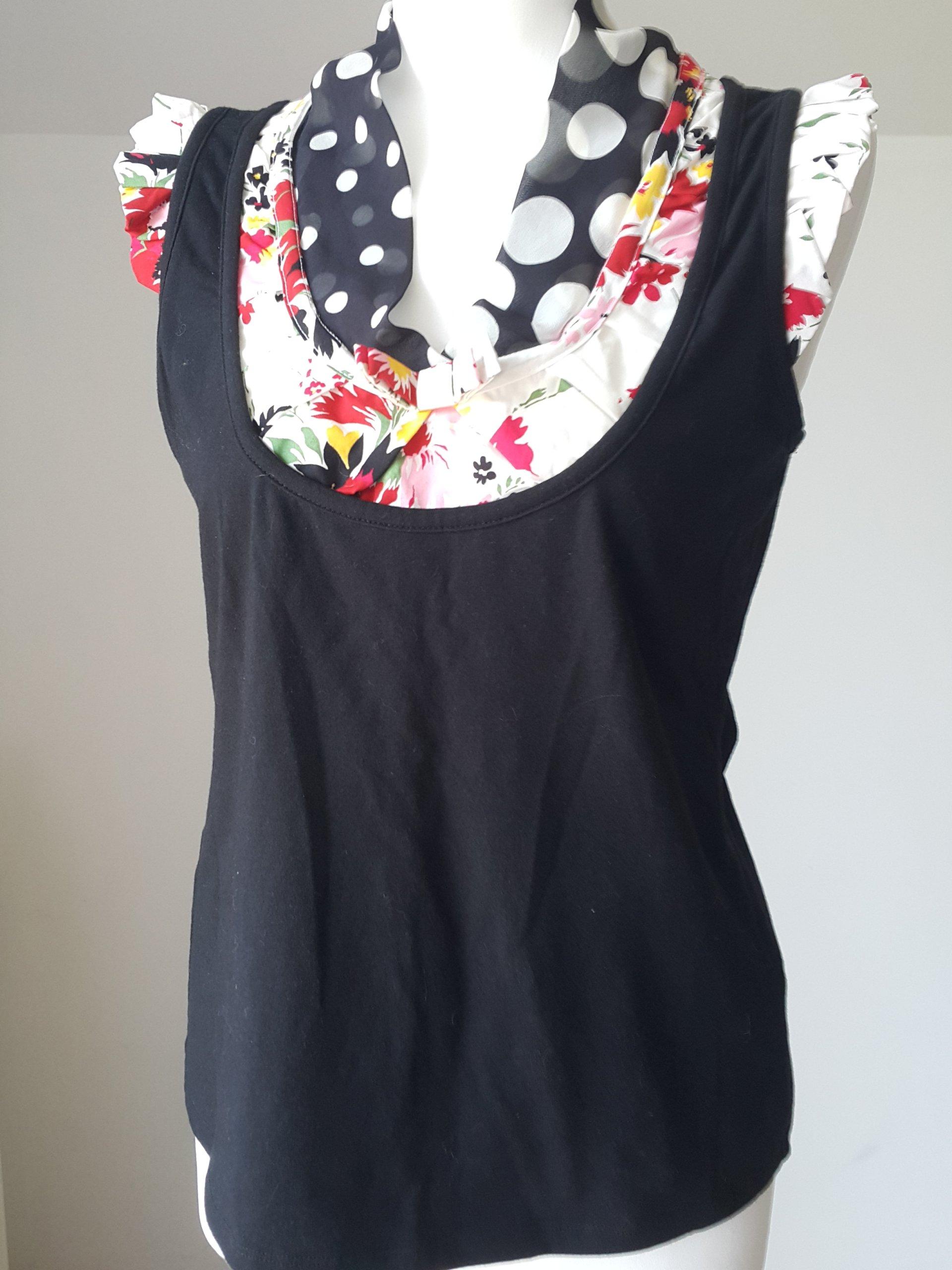 kenzo czarna bluza w grochy