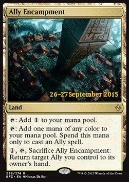 Ally Encampment Battle for Zendikar: Promos