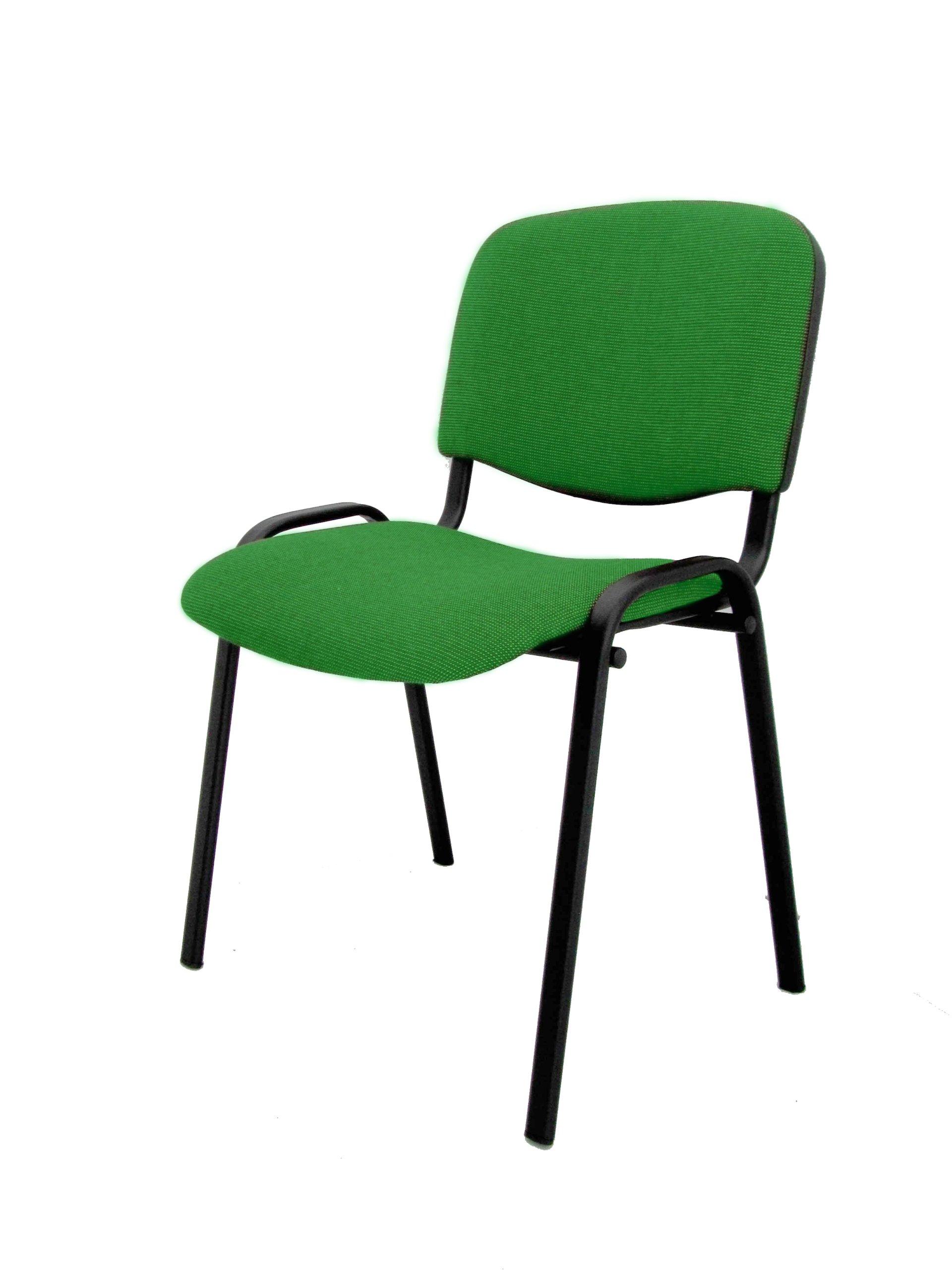 Krzesło Konferencyjne Iso Zielone Skladbiurowypl