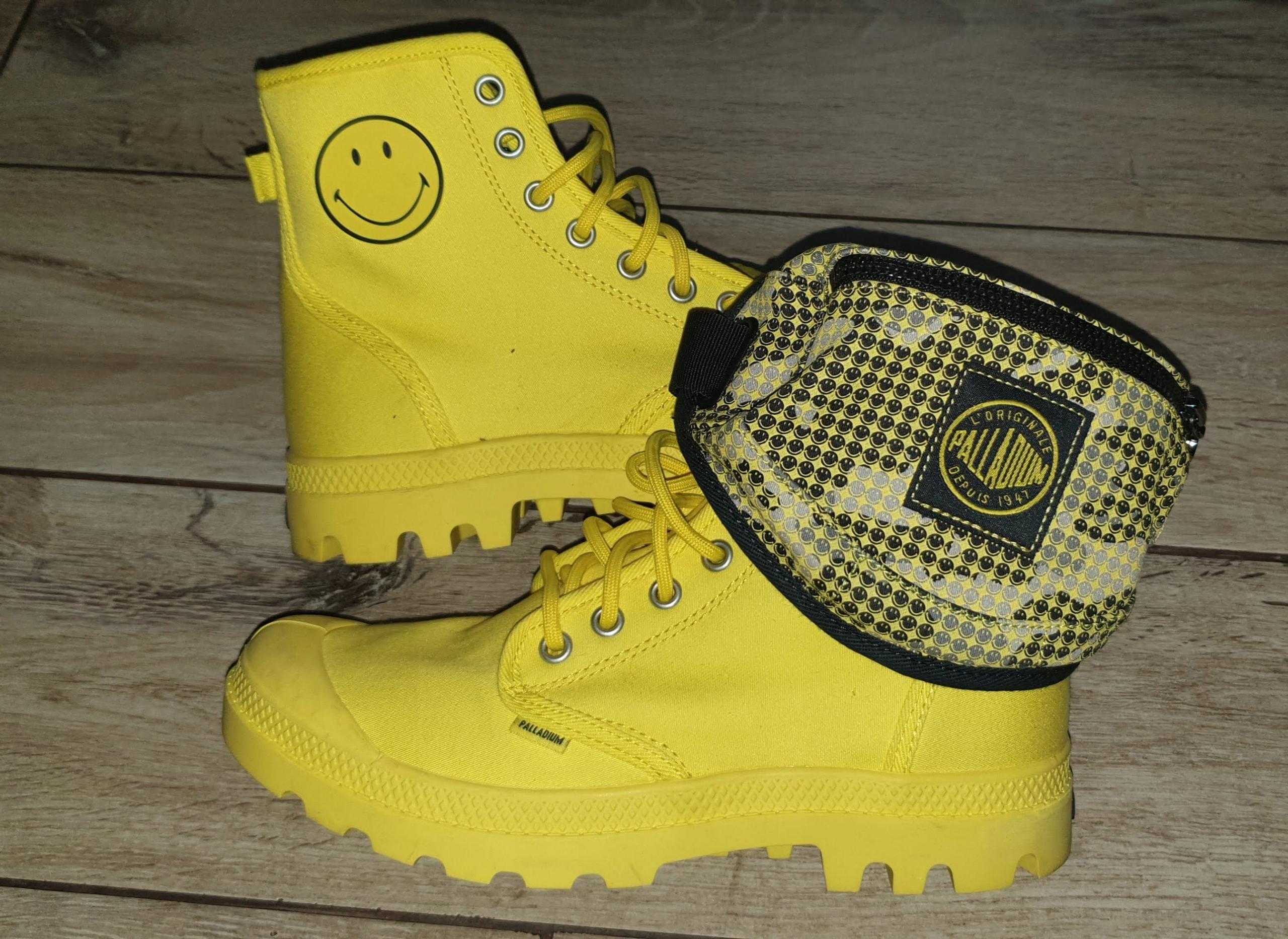 Palladium nowe smile roz. 38 saszetka buty trampki