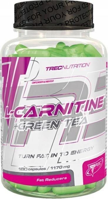 Trec Nutrition Carnitine + zielona herbata 180 kap