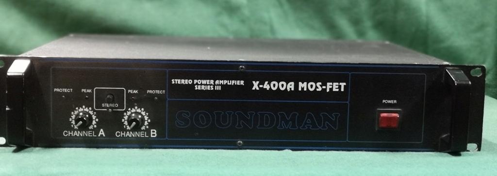SOUNDMAN X-400A MOS-FET