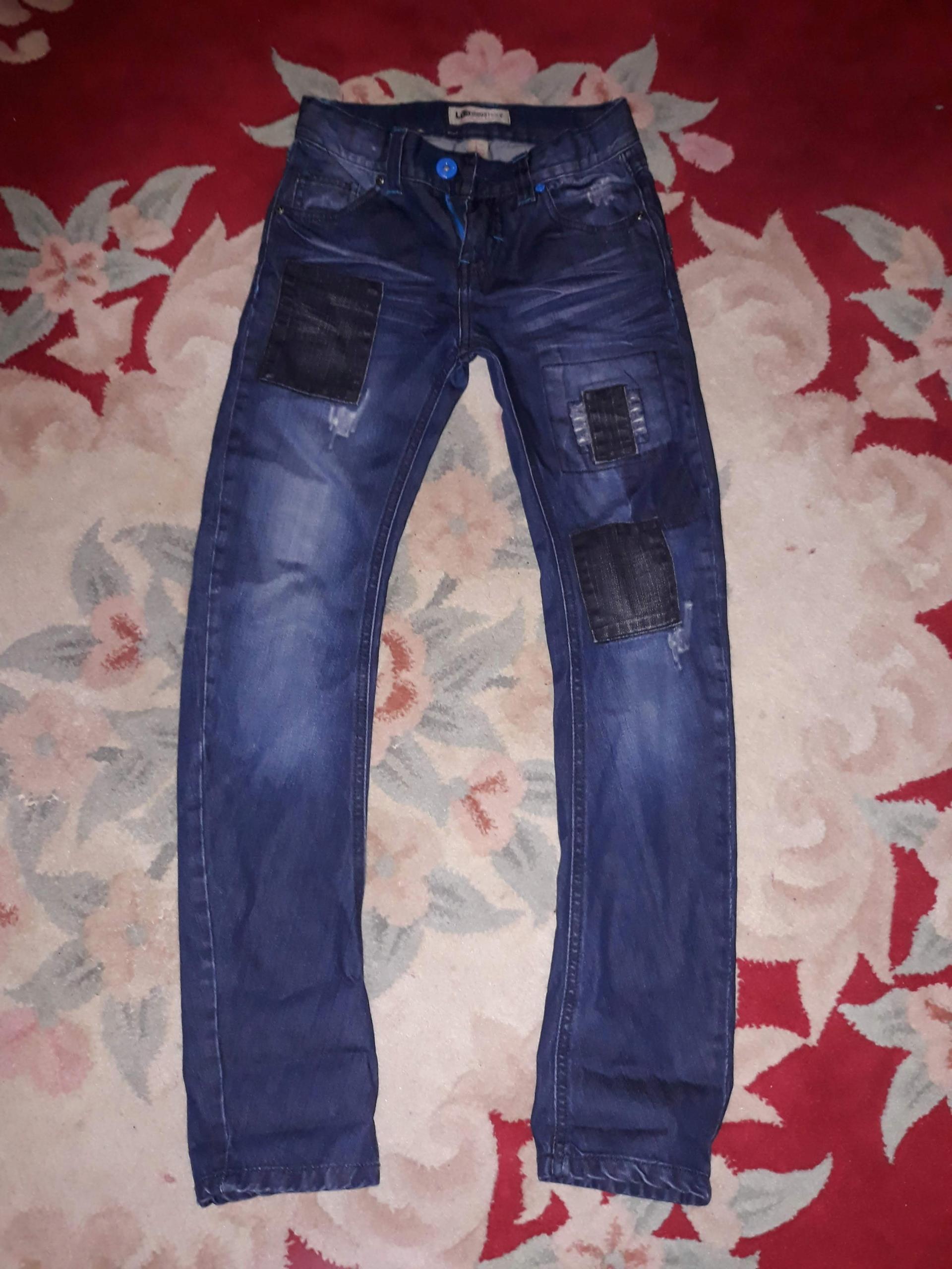 Lab Industries spodnie jeans 134 super !