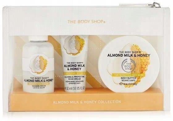 The Body Shop Almond Milk Honey Beauty Bag UK