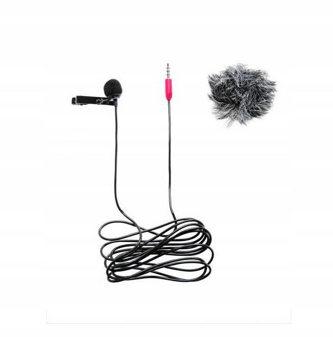 Mikrofon krawatowy Saramonic SR-LMX1+