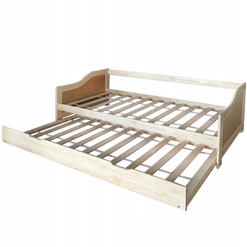 łóżko Rama łóżka Drewniana Sofa Rozkładana 7696770878