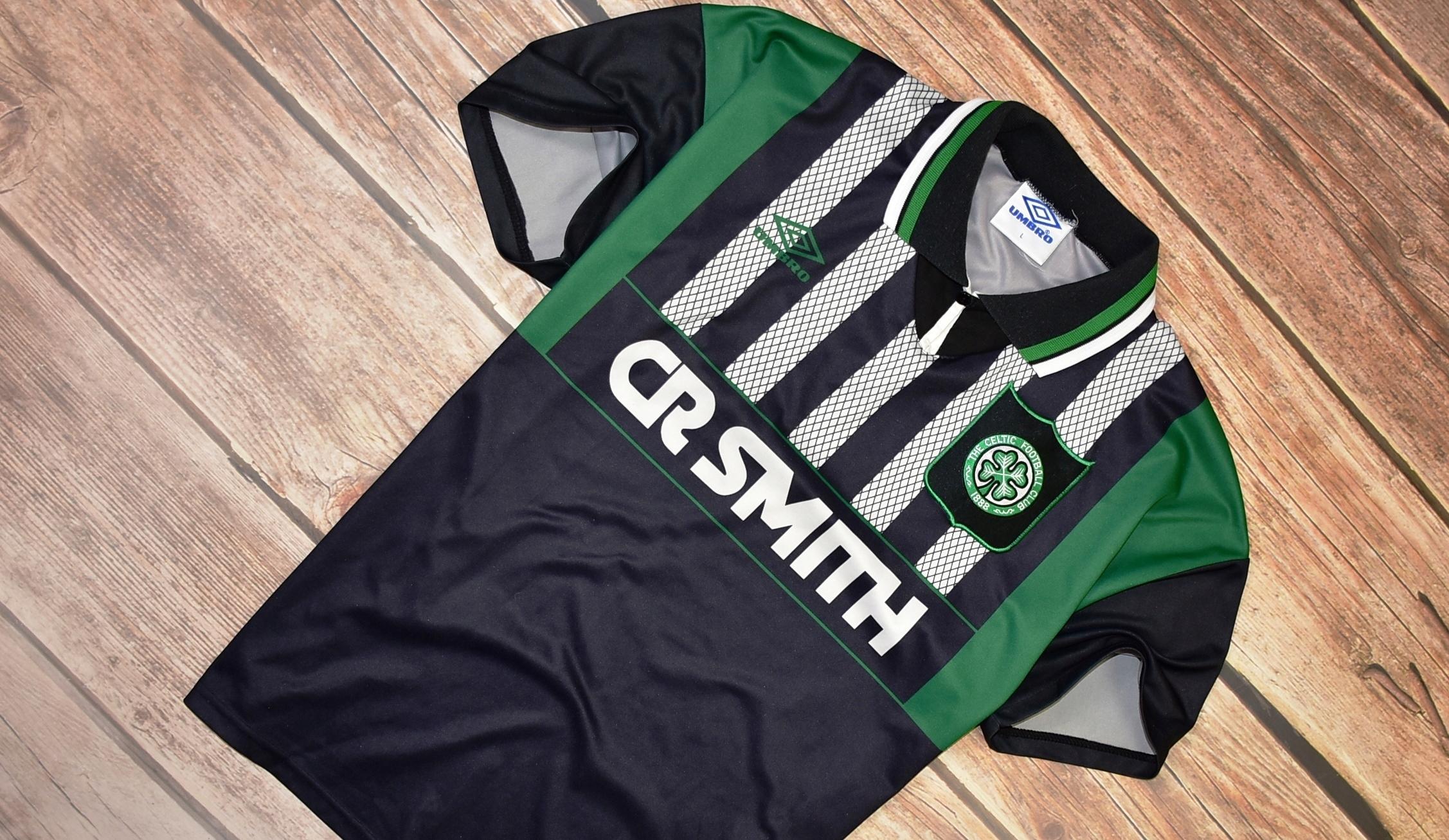 UMBRO _ FC CELTIC GLASGOW _ OLDSCHOOL SHIRT _ L.