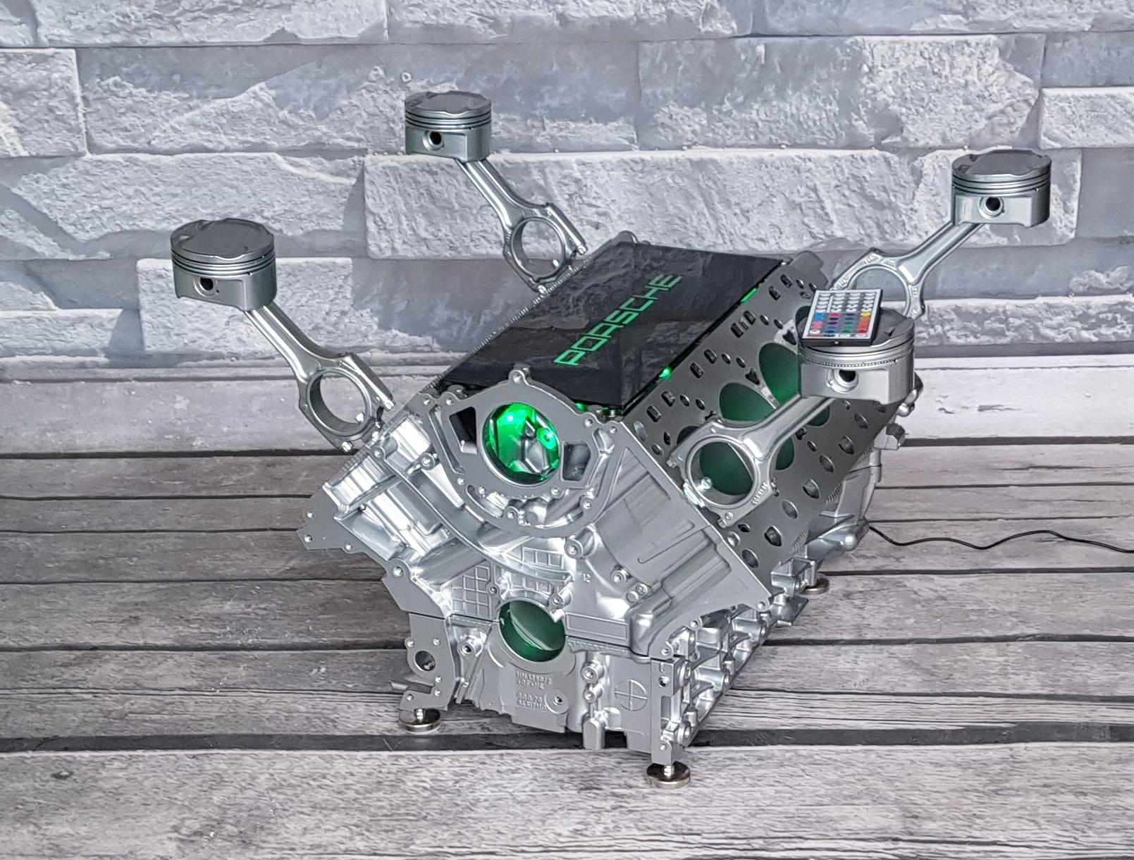 Stolik Z Bloku Silnika Porsche Panamera 48l V8 7201261174