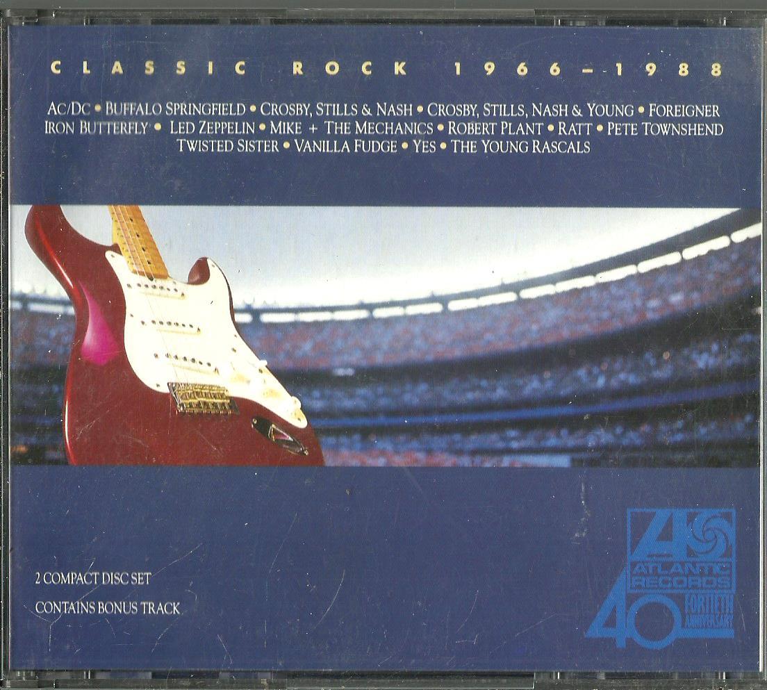 CLASSIC ROCK 1966-1988 2CD