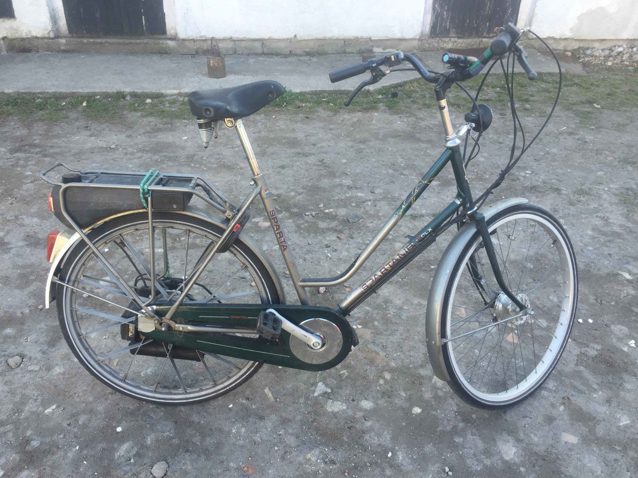Spartamet SACHS Sparta Rower z silnikiem spalinowy