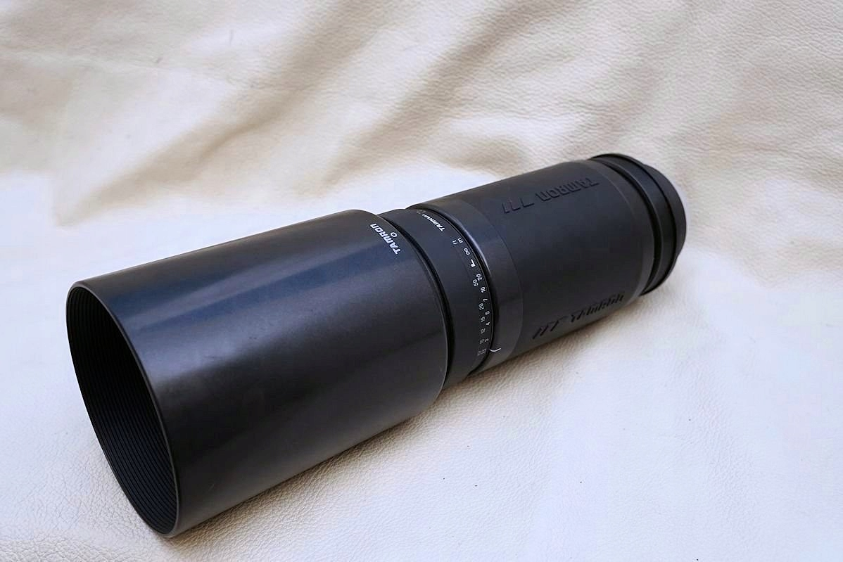 Tamron 200-400 f5,6 Sony Minolta ładny